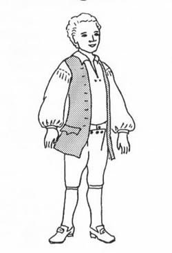 1770' (Colonial Costumes Patterns Boys)