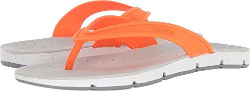 Swims Hombres Breeze Thong Sandalia Para Una Comodidad Completa - Swimsify Your Summer Orange / White / Gray