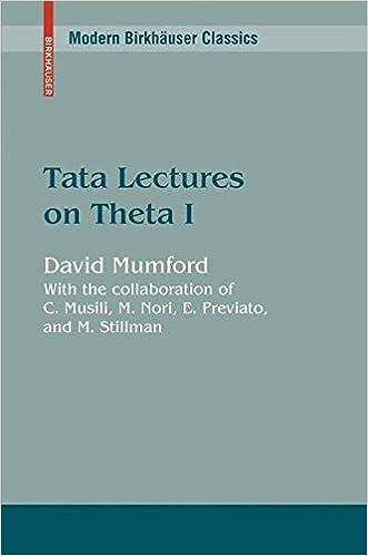 Tata Lectures on Theta I: v. 1 (Modern Birkhäuser Classics)