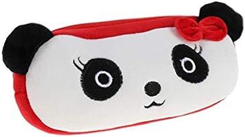 Estuche de peluche para niña, estuche de peluche – Cactus Panda: Amazon.es: Hogar