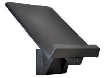 Ergotron 97-558-200 WorkFit-S Tablet/Document Holder - Mounting component ( holder ) for Tablet PC - plastic - black - for WorkFit-S Dual Sit-Stand Workstation, LCD & Laptop Sit-Stand Workstation