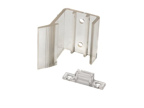 rv designer h527, universal sliding mirrored door latch, 2 per pack, interior hardware