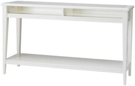 IKEA 001.050.64 Liatorp - Mesa consola (cristal), color blanco ...