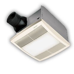 Broan-Nutone QTRE080FLT 80 CFM ENERGY STAR Fluorescent Light/Night Light Bath Exhaust Fan