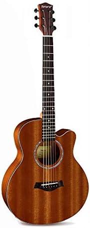 ミニアコースティックギター トラベルギターポータブルミニ36インチのフォークギターアコースティックギターキッズギターとジュニアギター 初心者 入門 (Color : C, Size : 36 inch)