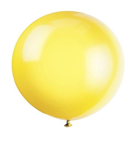 10 opinioni per Unique Party 56725- Palloncini Giganti in Lattice Giallo Limone da 90 cm,