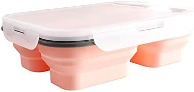 Silicone Food Portable Lunch Boxes Bowl Bento Picnic Folding Collapsible