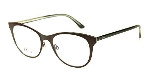 26d83327cd7c Christian Dior Montaigne 13 Women Eyeglasses Burt Black Crystal Frame    (0MVZ) - Buy Online in UAE.