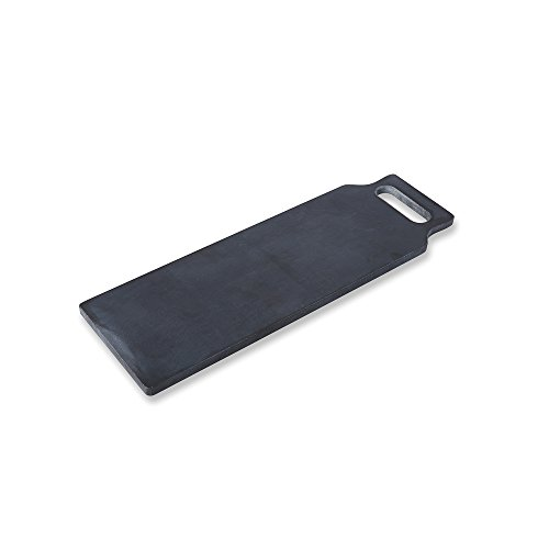 Natural-Marble-Cheese-Paddle-Board-Reversible-for-Cutting-and-Serving-Premium-Quality-18-x-9-inch-Black