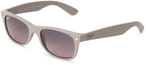 Ray-Ban NEW WAYFARER - MATTE BEIGE Frame POLAR BLUE GRAD.PINK Lenses 52mm - Sunglasses Ban Custom Ray