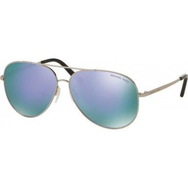 Michael Kors Kendall I Pilot Sunglasses Silver - Sunglasses Michael Kors Purple