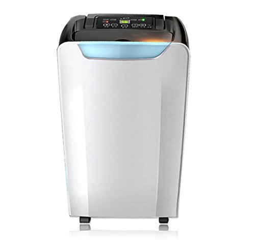 Price comparison product image 20 Pint Portable Dehumidifier with Timer,  Dual fan speeds,  Auto-Shut Off,  Washable Air Filter,  Cloth Drying Mode