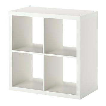 Regal weiß ikea expedit  Ikea KALLAX Regal in weiß; (77x77cm): Amazon.de: Küche & Haushalt