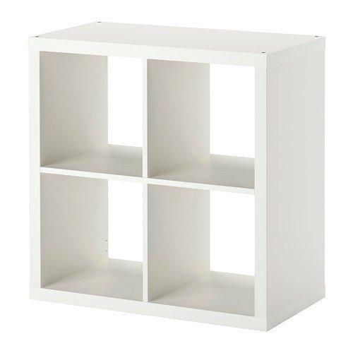 IKEA Regal Kallax das neue Expedit Regal 4 - Fach weiß 77 x 77 x 39 cm NEU