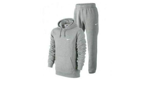 Nike - Chándal con Capucha para Hombre (Forro Polar), 404538, Gris ...