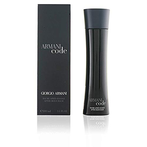 Giorgio Armani After Shave Balm, Code, 3.4 Ounce