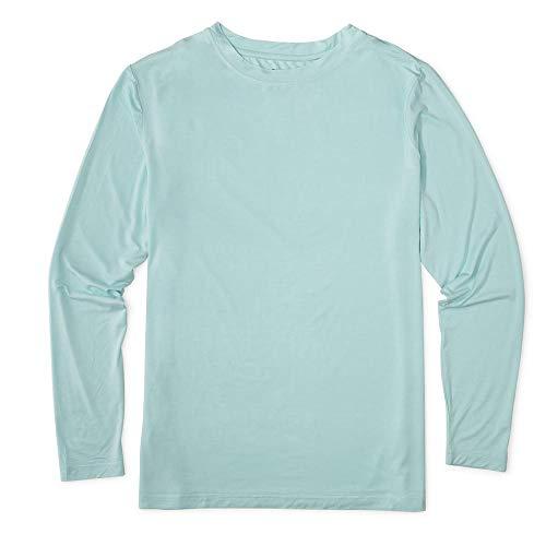 Bamboo Long Sleeve Shirt - Glade Men's Long Sleeve Shirt for Hiking, Camping, Bike, Crossfit, Lake, Adventure, Fly Fishing, and Sailing (Sage, Large)