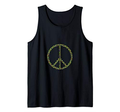 Peace Sign Flowerpower Hippie Costume 60's 70's