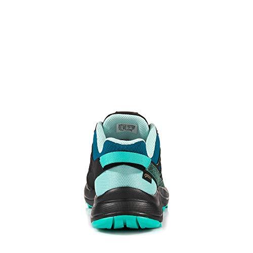 Gore TEX® Outdoorschuh mit Blau XA L40656100 Orion Schnellschnürsystem Türkis Damen Itqx1gwB