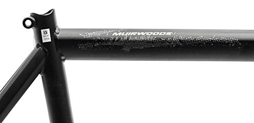"22"" MARIN MUIRWOODS 26 Urban City Hybrid Bike Frame Black Chromoly Steel NOS NEW"
