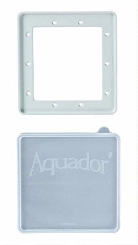 (Aquador Standard Above Ground Pool Skimmer Cover Plate 1090)