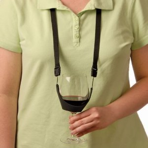 Wine Glass Holder Necklace -