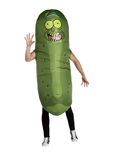 Palamon Adult Rick and Morty Pickle Rick Inflatable Costume Standard -
