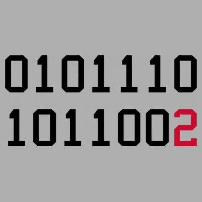 Sudadera con capucha de mujer Binary Code Think Different by Shirtcity Gris granulado
