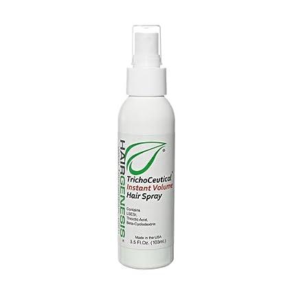 HairGenesis® Trichoceutical - Spray Voluminizador Diseñado Para Cabellos Débiles - Descubre Los Beneficios De Su