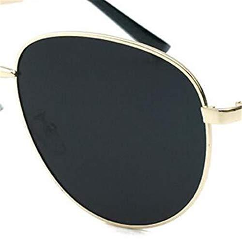 Gafas de de Recorte gradiente Joker Punky Color Sol Unisex de Sol Estilo de Marco Gafas Sol de para de Femenino de de Sol poligonales Calidad Sol Gafas Gafas de pequeño Metal Gafas Marinero pqa6W1