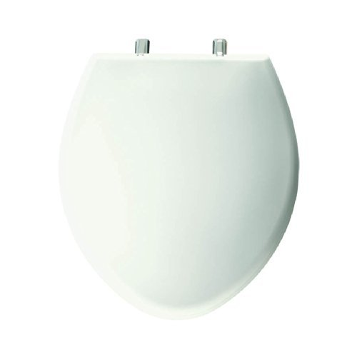 Bemis 1000CP000 1000CPT 000 Paramount Plastic Elongated Toilet Seat White