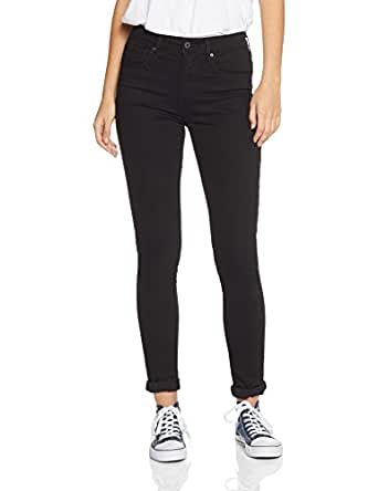 Levi's Women's 721 High Rise Skinny Jeans, Black Sheep, 24 32