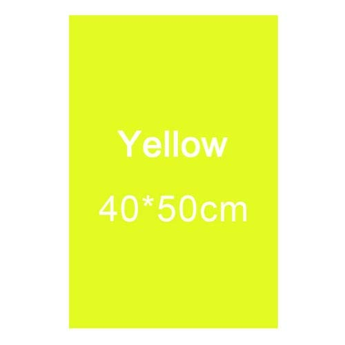 Clamp Hdslr (Colors Lighting Filter Gel Sheets 16'x20 for Video Camera Studio Photography - (Color: Yello))