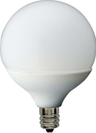 GE Lighting 76449 Energy Smart LED 2-Watt (10-watt replacement) 60-Lumen G16.5 Light Bulb with Candelabra Base, 1-Pack