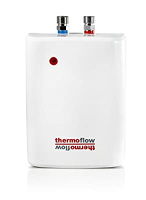 Thermoflow Tankless Water Heater Electric - High Efficiency Instant Hot Water Heater Electric - Consistent Hot Water On Demand