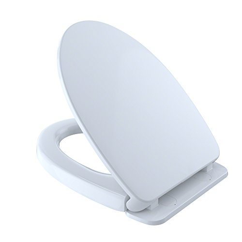 (TOTO SS124-01 Toilet Seat in Cotton White)