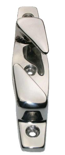 Arbo-Inox Klampe Lippklampe Belegklampe Festmacher Fairleads Edelstahlspiegelpoliert 114mm