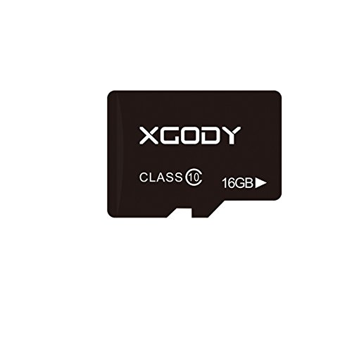 Xgody Micro SD Card 16GB TF Card for Cellphone/Tablet/GPS (16GB) by XGODY