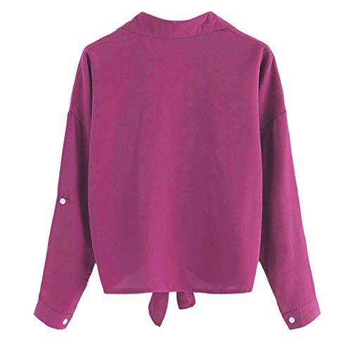 Taille Veste XXXXXL Vif S Imprimer Shirt Rouge Plus Rose Femmes Hiver Violet Clair Boutons Chemisier XXXXL L Longues Femme XXL XXXL Gris Chemisier M Or Manches XL Rose Chat vif T Bleu CPwwtxBqH