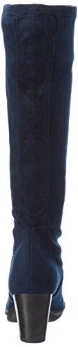 Marco Tozzi 2-2-25513-27 - Botas altas con tacón para mujer Azul (Navy 805)