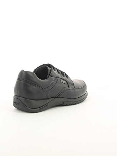 Zapato Callaghan De Piel Negro Negro