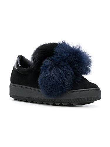 Slip Sneakers Camoscio Vbldpu01 Model Nero On Philippe Donna 6PwxRq7SSa