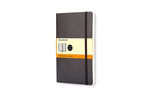 Moleskine Classic Soft Cover Notebook, Ruled, Large (5