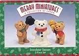 Hallmark Merry Miniatures Snowbear Season