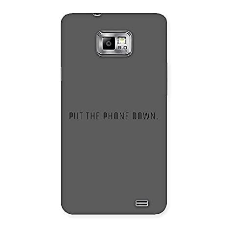 new product 83195 26e3e Phone Down Back Case Cover for Samsung Galaxy S2: Amazon.in: Electronics