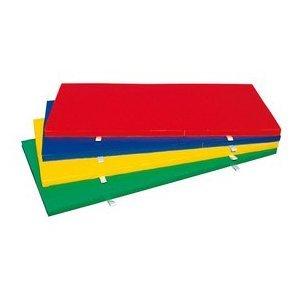 体育マット  カラーマット 屋内外兼用 緑 1枚 L801 B005Q2816M
