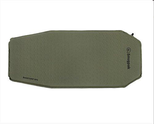 SnugPak 91910-OD Green Basecamp Ops Self-Inflating Camping Air Mat