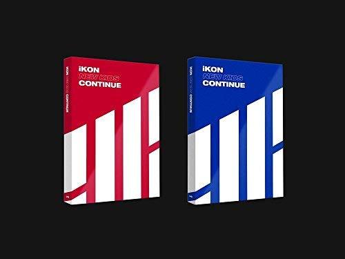 Genie Music iKON - NEW KIDS : CONTINUE [Random ver.] (Mini Album) CD+Photobook+Postcard+Photocard+Folded Poster