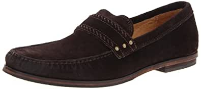 John Varvatos Men's Madison Dress Loafer Loafer,Espresso,12 M Us