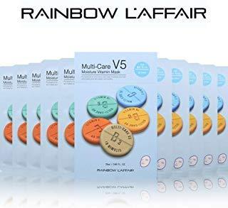 - L'AFFAIR Face Mask Sheet Korean Skin Care, 'Moisturizing' -10 Masks-